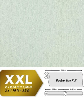 Wallpaper fabric textile look EDEM 930-30 luxury heavyweight non-woven ice-white silver shimmer | 10,65 sqm (114 sq ft)