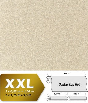 Non-woven wallpaper XXL EDEM 998-31 granite mosaic plaster natural stone chips effect beige cream 10,65 sqm (114 sq ft)