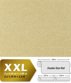 Non-woven wallpaper XXL EDEM 998-33 granite mosaic plaster natural stone chips sand-yellow white | 10,65 sqm (114 sq ft)