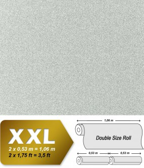 Non-woven wallpaper XXL EDEM 998-37 granite mosaic plaster natural stone chips effect stone-grey | 10,65 sqm (114 sq ft)